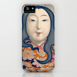 Matrioska japonesa iPhone Case
