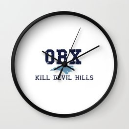 Kill Devil Hills - North Carolina. Wall Clock