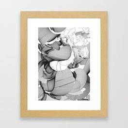 Metamorfosis #1 Abstract Art Line Framed Art Print