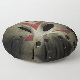 Slasher Hockey Mask Floor Pillow