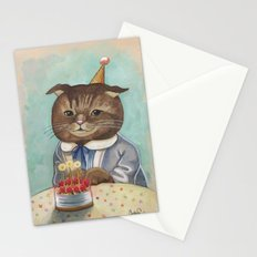 Happy Birthday Kitty Stationery Cards