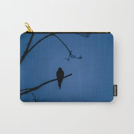 Bird Silhouette - Midnight Carry-All Pouch