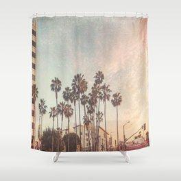 Hollywood Texture Shower Curtain
