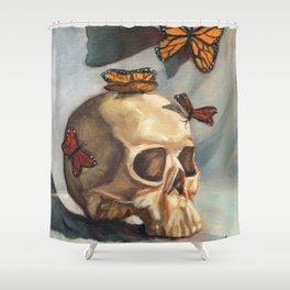 Vanitas Shower Curtain