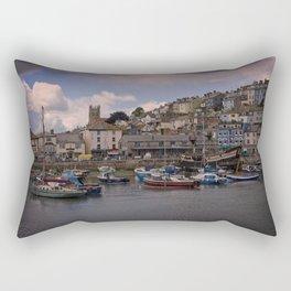 Brixham Harbour Rectangular Pillow