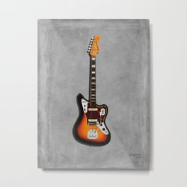 The Jaguar Guitar 1967 Metal Print