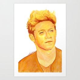 Niall Horan Painting Art Print