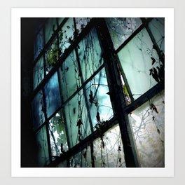 I Dream in Azure Art Print