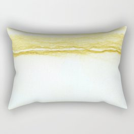 Yellow Surf Rectangular Pillow