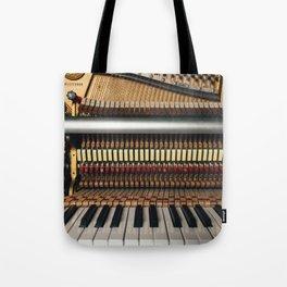 Piano inside Tote Bag