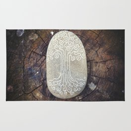 Spiritual symbol. Tree of Life. Rug
