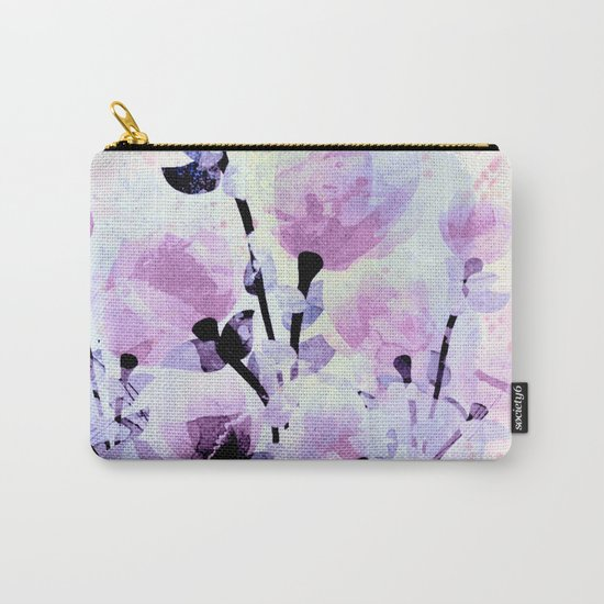 soft pink and purple bouquet Carry-All Pouch