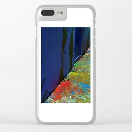 Remnants Clear iPhone Case
