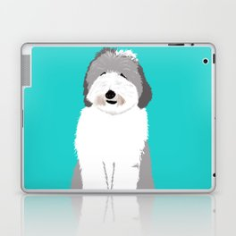 Lucy The Sheepadoodle Laptop & iPad Skin