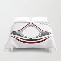 assassins creed Duvet Covers featuring Assassin's Creed - Woodland by Fatih