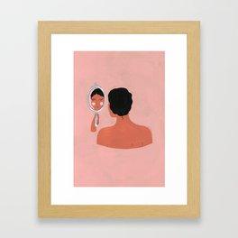 Reflection - for the New York Times Framed Art Print