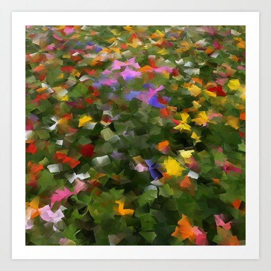 Wildflower Field Art Print
