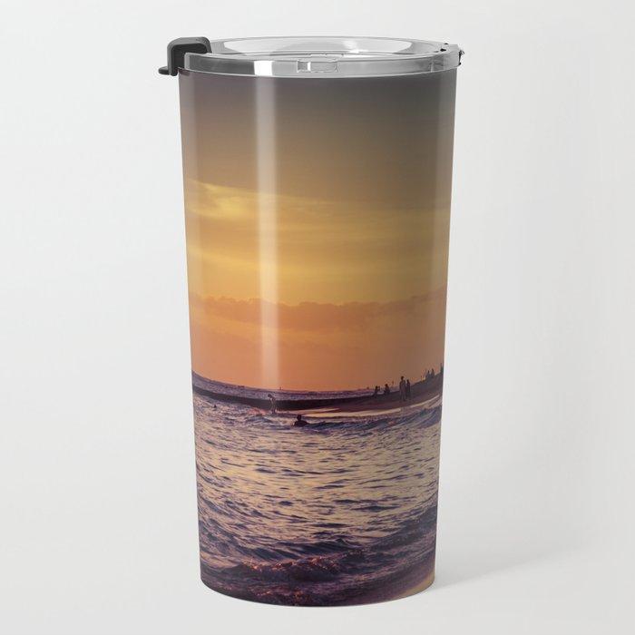 Sunset in Hawaii 0015 Travel Mug