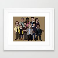 parks and recreation Framed Art Prints featuring Parks and Recreation by jasesa