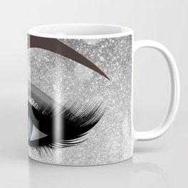 Glam diamond lashes eye #1 Coffee Mug