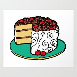 Lane Cake - Alabama Art Print