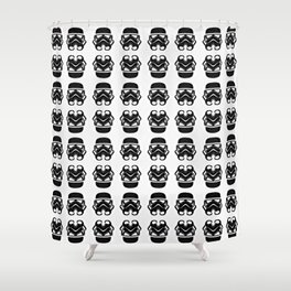 66 Troopers Shower Curtain