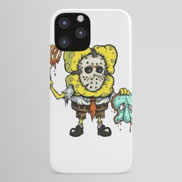 Spongebob Horror iPhone Case