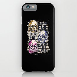 NO EVIL iPhone Case
