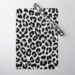 ReAL LeOparD B&W Wrapping Paper