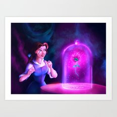 The Enchanted Rose Art Print