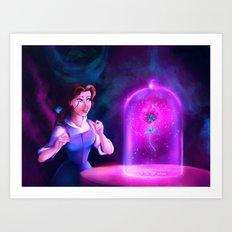 The Enchanted Rose Art Print