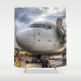 Pegasus Boeing 737 Shower Curtain