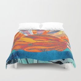 Sunrise, Sunset Duvet Cover