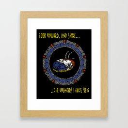 Starscape 1 Framed Art Print