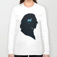 snape Long Sleeve T-shirts featuring Always by Duke Dastardly