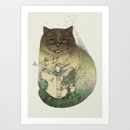 Storyteller Art Print