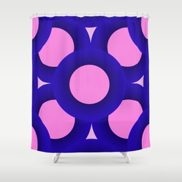 Pink Life Shower Curtain