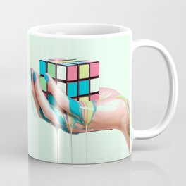 MELTING RUBIKS CUBE Coffee Mug