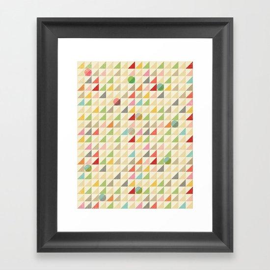 GEOMETRIC 002 Framed Art Print