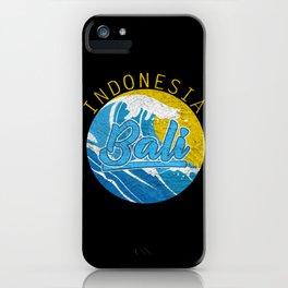 Distressed Indonesia Bali iPhone Case