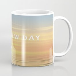 It's A New Day (Typography) Coffee Mug