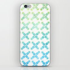 Blue Pineapples iPhone Skin