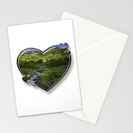 I Love Norway Stationery Cards