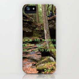 Nature's Travelers iPhone Case