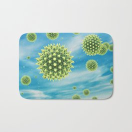 Pollen allergy Bath Mat