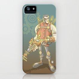 Steampunk Explorer iPhone Case
