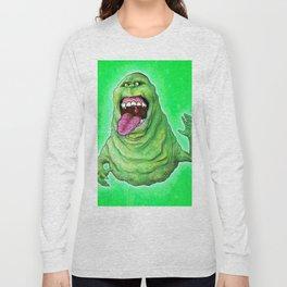 Slimer (Ghostbusters) Long Sleeve T-shirt