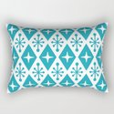 Mid Century Modern Atomic Triangle Pattern 119 by tonymagner
