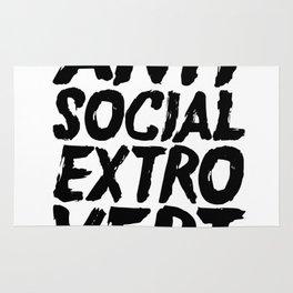 Anti Social Extrovert Rug