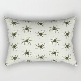Spiders grey Rectangular Pillow